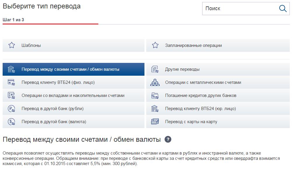 Оплата кредита через личный кабинет ВТБ 24-Онлайн